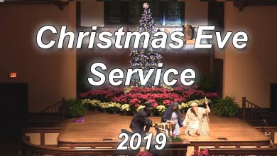 Christmas Eve at Asbury Memorial Church